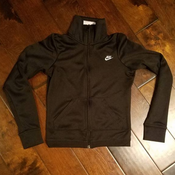 4fa85217f Nike Jackets & Coats | Women Black Track Jacket | Poshmark